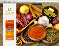 Aroma Curry House Website