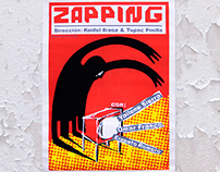 ZAPPING. Early serigraph poster