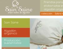 Sain Saine ropa para bebés : website