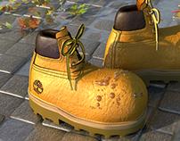 Timberland cartoon boots
