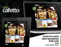Cafetto Cafe Web Site / Upgrade Version Black Edition