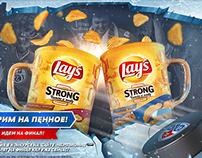 Lay's Strong – KHL sponsorship