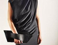 leaf bag,wavy dress