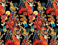 Mexican fiesta- pattern design