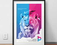 Poster - pinkyblue design