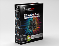 12 Natural Brain  Boosting Programs Box