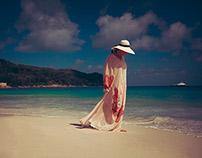 Katya Kovtunovich, Beach'13, Seychelles