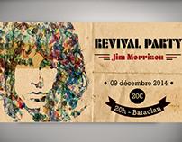Flyer Jim Morrison