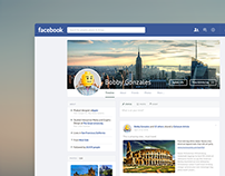 Facebook Refresh (UI concept)