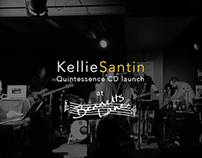 Kellie Santin Quintessence CD launch at Bennett's Lane
