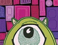 Monsters University Commemorative Poster