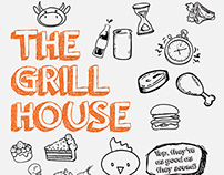The Grill House [Menu Card Design]