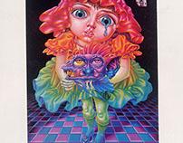 月刊「芸術生活」誌の目次口絵 1973年 芸術生活社