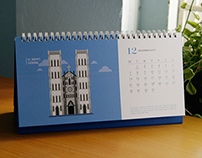 Calendar 2015 - Features of Hanoi