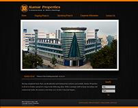 Web Design for Kumar Builders, Pune