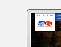 Le Grand Bleu - Site Web