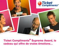 """Edenred - Ticket Compliments """"Supreme Award"""""""
