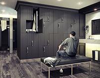 Service Apartment _ Locker Room