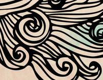 Ilustración - El Cuaderno Azul Poemario