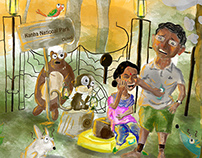 Illustration : The Man in Kanha