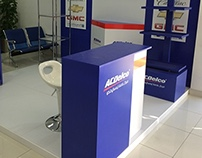 AC Delco Promotional Booth
