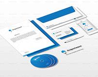 3D Realistic PSD Identity Mockup Design Free Download
