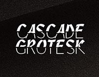 Cascade Grotesk Typeface