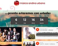 Página de prelanzamiento web site