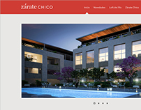 Zárate Chico - rediseño web