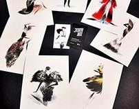 Alexander McQueen Postcard Set
