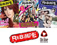 Projeto para Editora Online - Rebelde