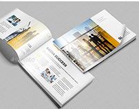 Booklet / Catalog / Magazine Mock-Up Landscape