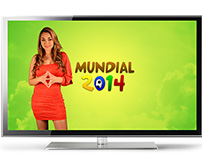 Mundial 2014 Weather Forecast Design / TV GRAPHICS