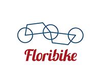 """Floribike"" visual system and branding"
