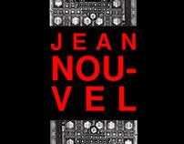 Mise en page Recto/Verso Architecte JEAN NOUVEL
