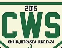 2015 College World Series Logo Concept