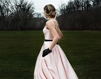 Classic Pink Evening Gown