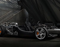 McLaren MP4  rolling chassis