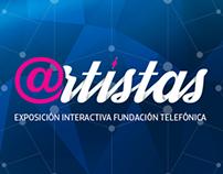 @RTISTAS Interactive Exhibit