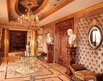 Arabic islamic marble flooring abu dhabi uae on behance for Classic furniture uae