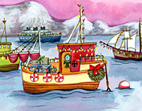 A Nautical Holiday (Merry & Bright)