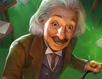 Albert Einstein for STEM:Epic Heroes