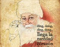 Illustration Sweet Christmas/ Ilustración Feliz Navidad