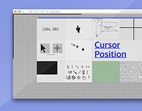 Cursor Position — Website