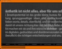 Concept & Webdesign for Pfeiffer & Baston GbR, Witten