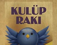 Kulüp Rakı // Sosyal Medya Poster Serisi / Shopper