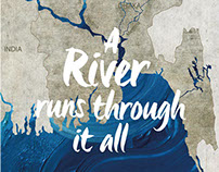 A river runs through it all - KINDLE January Cover