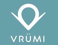 Vrumi logo design