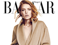 Harper's Bazaar Turkey October 2014
