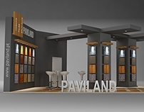 PAVILAND Exhibition Stand made in 3d max and vray